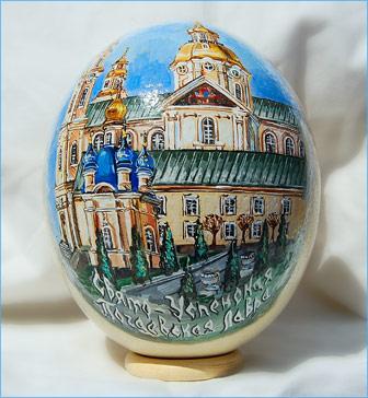 59 Страусиная ферма Саванна и галерея АртиШок представляют пасхальную выставку страусиных яиц.